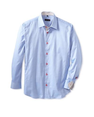 Jared Lang Men's Solid Long Sleeve Sportshirt