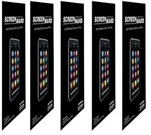 5X Screen Protector Scratch Guard For Sony Xperia E (Pack of 5)