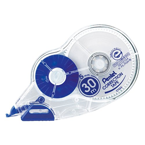 Type 5 mm width 30m one-time-use Pentel Correction Tape...