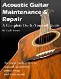 Acoustic Guitar Maintenance and Repair - A Complete Do It Yourself Guide (English Edition)