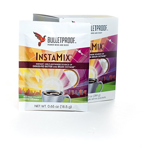 BulletProof InstaMix Grass Fed Butter and Brain Octane 14 Single Serve Packets