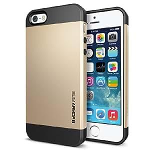 Eclipse Spigen iPhone 4/4S - Champange Gold Slim Armor Back Case