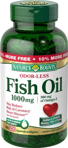 Nature'S Bounty Fish Oil (Odorless) 1000 Mg., 220-Count