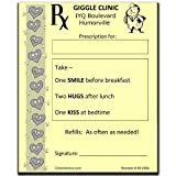 Clown Prescription Notepads In Yellow