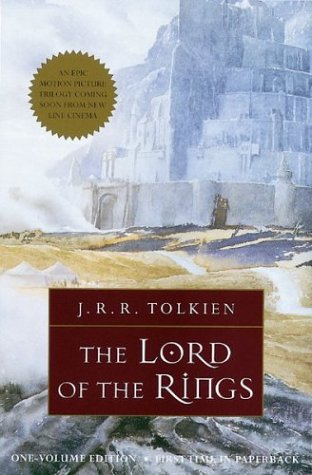 Lord of the rings, book 1 by JRR. Tolkien