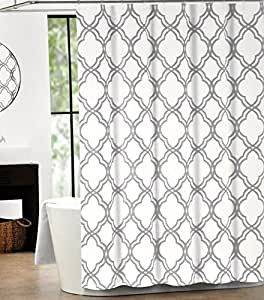 Max Studio Home Cotton Shower Curtain Moroccan Tile