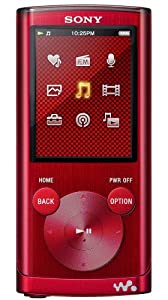 Sony NWZE453R E Series 4GB Walkman MP3/Video with Clear Audio - Red