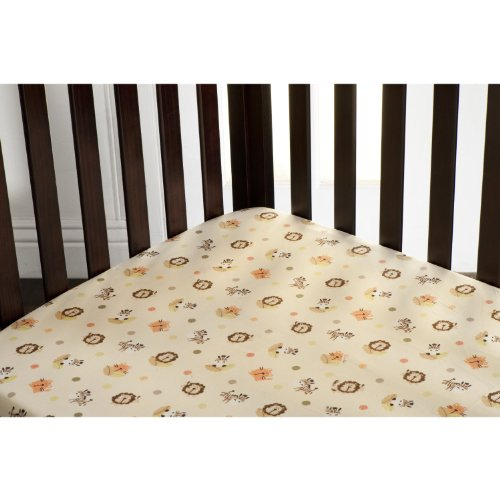 Graco Fitted Crib Sheet, Peek a Boo (Discontinued by Manufacturer)