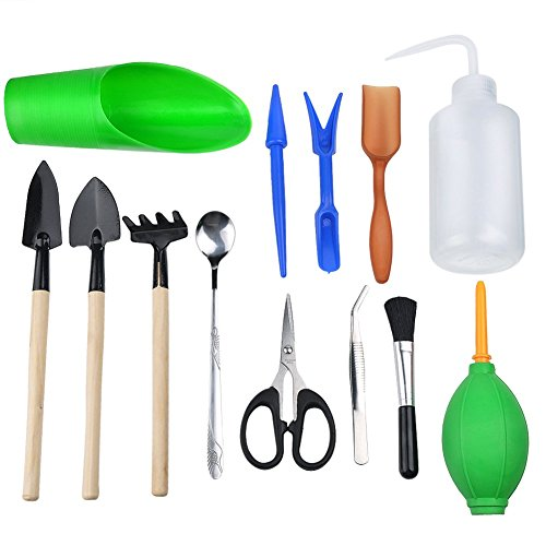 inhdbox-13-pcs-succulent-transplanting-mini-garden-hand-tools-set-for-indoor-garden-plant-care