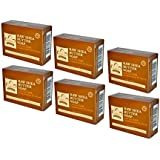 Nubian Heritage Raw Shea Butter Soap (Pack of 6)