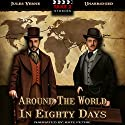 Around the World in 80 Days Audiobook by Jules Verne Narrated by Kate Petrie