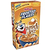 Kellogg's Frosted Flakes Pumpkin Spice Cereal 24oz