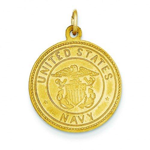 14kt Gold St. Christopher / Navy Medal loverjewelry 11x13mm 14kt 2t018