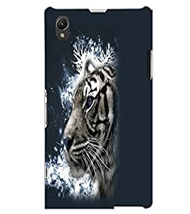 SONY XPERIA Z1 TIGER Back Cover by PRINTSWAG
