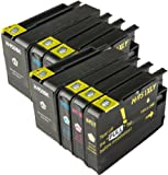 The Ink Squid Compatible Ink Cartridges. Replacement for HP 951 & HP 951 XL (2 x Black, 2 x Cyan, 2 x Magenta, 2 x Yellow). Compatible with HP Officejet Pro 251dw 276dw 8100e 8100 8600 Plus all-in-one 8600 Premium 8600 8600e All-in-One 8600 Plus e All-in