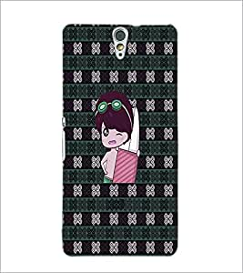 PrintDhaba Cartoon D-3307 Back Case Cover for SONY XPERIA C5 ULTRA (Multi-Coloured)