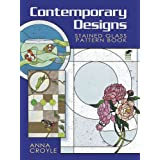Contemporary Designs Stained Glass Pattern Bookby Anna Croyle