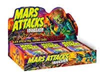 Topps 2013 Mars Attacks Invasion Factory Sealed Hobby Box with 24 Packs from Topps