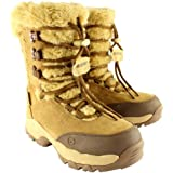 Womens Hi-Tec St.Moritz 200 II Suede Faux Fur Winter Snow Mid Calf Boots