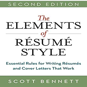 The Elements of Resume Style Audiobook