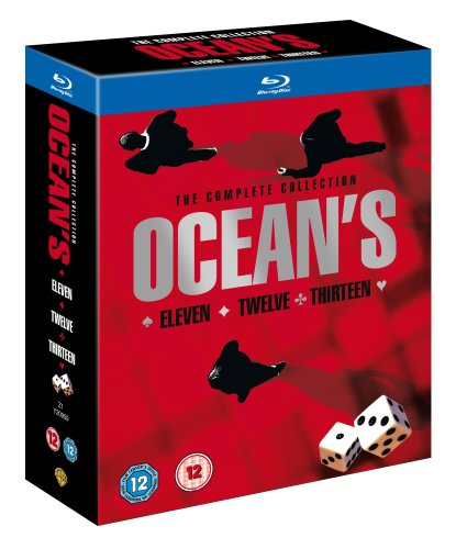Ocean's Trilogy [Blu-ray] [Region Free]