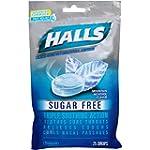 Halls Sugar Free Drops, Mountain Ment...