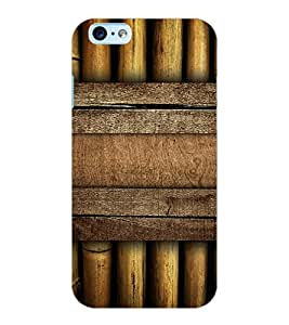 ColourCraft Bamboos Pattern Design Back Case Cover for APPLE IPHONE 6