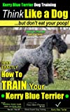 img - for Kerry Blue Terrier Dog Training | Think Like a Dog, But Don't Eat Your Poop! | Kerry Blue Terrier Breed Expert Training | How To Train Your Kerry Blue Terrier: Kerry Blue Terrier book / textbook / text book