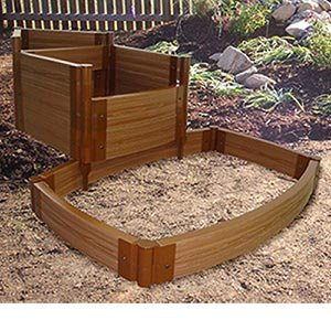 Frame it all water pond frame kit fits for Wooden pond waterfalls