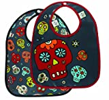 Sugarbooger Mini Bib Gift Set of 2, Dia De Los Muertos