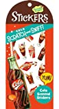 PEACEABLE KINGDOM SCRATCH & SNIFF STICKERS COLA