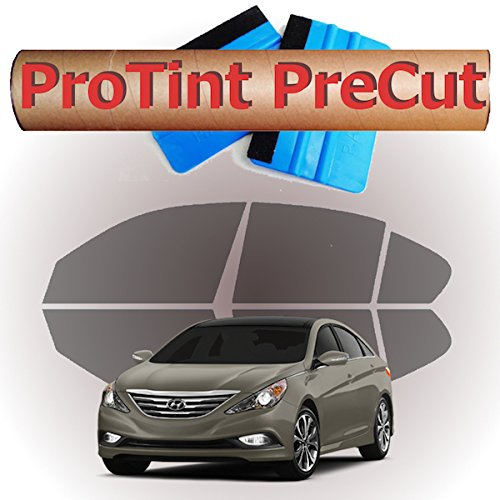 Precut hyundai sonata sedan all side and rear windows tint for All side windows