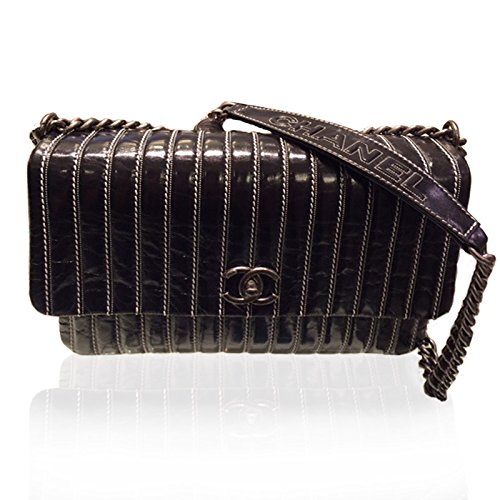 [CHANEL] 2015SS SAC A RABAT Calf Skin Shoulder Bag