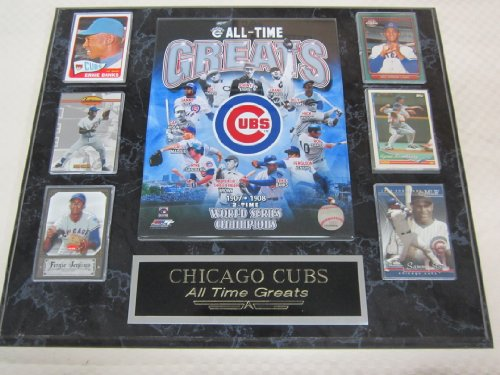 Chicago Cubs All Time Greats 6 Card Collector Plaque at Amazon.com