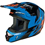 Fly Racing Kinetic Inversion Adult Motocross/Off-Road/Dirt Bike Motorcycle Helmet - Blue/Black / X-Large