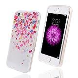WeLoveCase Für iPhone 5 5S Soft TPU Premium Verschiedene