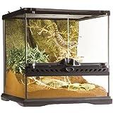 Exo Terra Glass Natural Terrarium, Mini/Wide, 30 x 30 x 30 cm