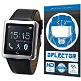DFlectorshield Premium Scratch Resistant Screen Protector for the Soyan U8 UWatch Upgrade SmartWatch