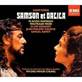 Samson et Dalila - Acte III : Viens, Dalila, rendre gr�ce � nos dieux (Le Grand-Pr�tre, Dalila, Les Philistins)