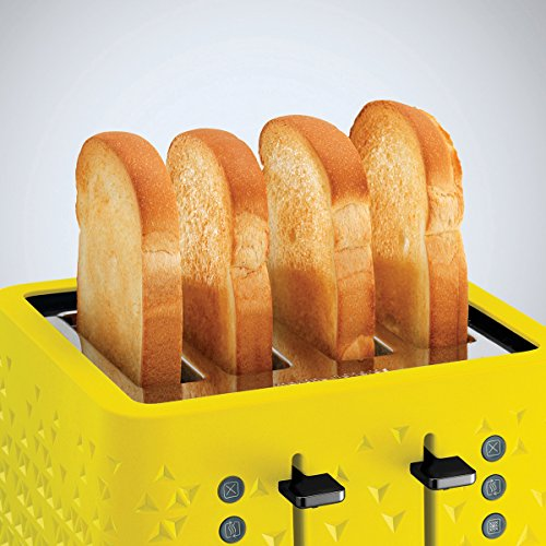 Morphy Richards 248108 Prism Toaster - Yellow