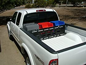 "Truck cargo gate bed divider: Msp-06. Bed width range: 64"" to 71"" (under the bed rails). SpacePac a GREAT GIFT IDEA FOR PICKUP ENTHUSIASTS! Click on the Merikor Enterprises link below to select from seven different sizes. Please note: We prefer to have your truck make, year, and model to ensure the best possible fit (please send 'note to seller')."