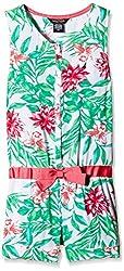Nautica Kids Girls' Casual Dress (NDF0030Q330_Light Green_9 - 10 years)