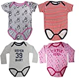 Starsy Combo of Four Cotton Romper jumper for Baby Boys & Baby Girls