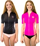 Rip Curl Party Wave Full Zip Short Sl...