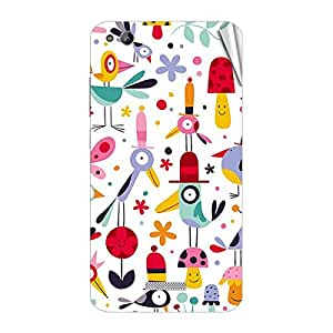Garmor Designer Mobile Skin Sticker For Gionee G5 - Mobile Sticker