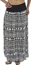 HotShot Women's Viscose Skirt (RH007, Medium)