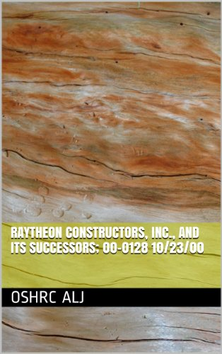 raytheon-constructors-inc-and-its-successors-00-0128-10-23-00-english-edition