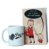 Mug n Card for Papa-Mug 1, Card 1, mugs for fathers day, ceramic mugs for fathers day, cards for fathers day,gifts for fathers day, fathers day gifts from daughter, fathers day gifts from son, fathers day gifts from kids, fathers day gifts, birthday cards for fathers, coffee mugs for fathers day, Birthday GIfts for Dad, Birthday Gifts for Father, Birthday Gifts, Gifts for Father in law-GIFTS111765