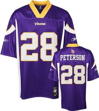 Adrian Peterson Minnesota Vikings Purple NFL Mid-Tier Jersey by Reebok