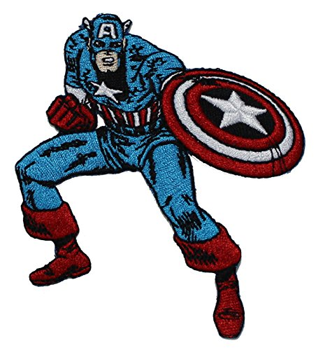 Application Marvel Comics Retro Captain America Patch